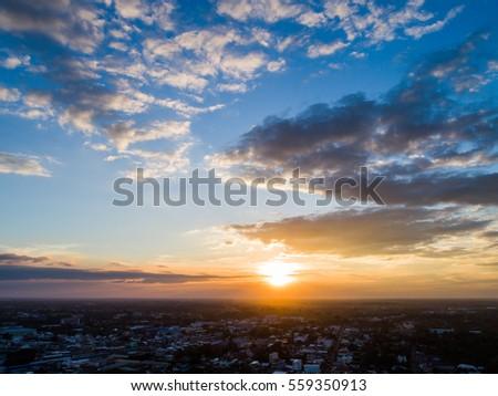 Cloud sunset sky #559350913