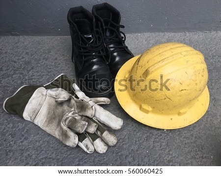 Safety equipment Royalty-Free Stock Photo #560060425