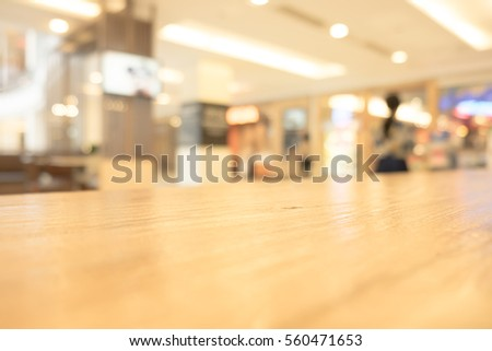 Table Top And Blur Interior of the Background #560471653