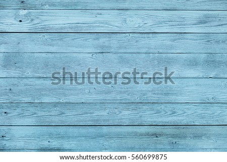 Blue wooden board #560699875