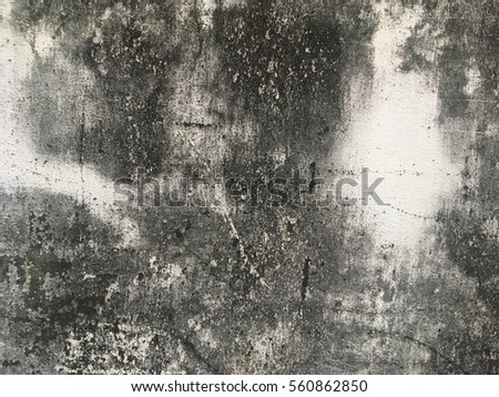 Dark vintage cement concrete wall background texture #560862850