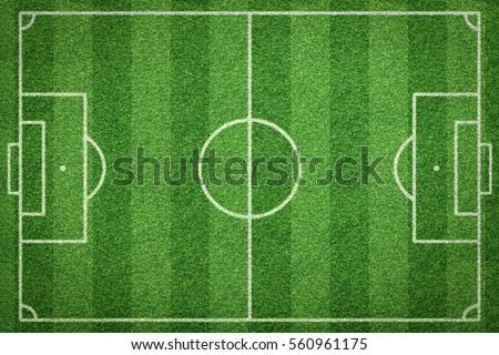 soccer field, football field Royalty-Free Stock Photo #560961175