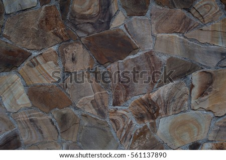 texture of stone wall  #561137890