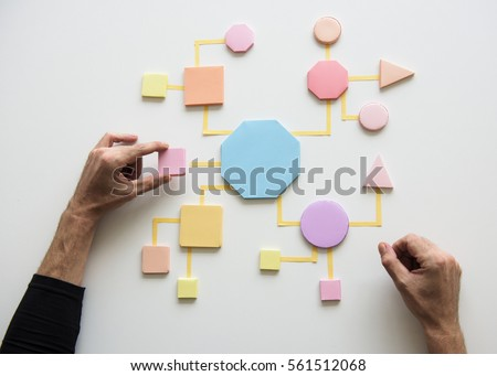 Business Process Concept Shapes Paper #561512068