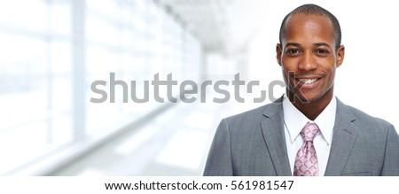 African-American businessman. #561981547