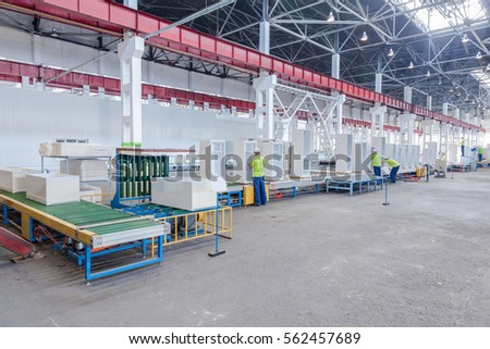machine for the manufacture of metallic parts for  refrigerator #562457689