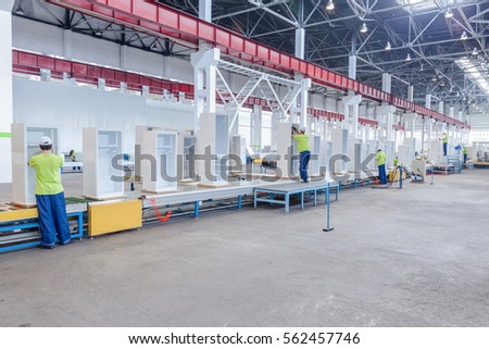 machine for the manufacture of metallic parts for  refrigerator #562457746
