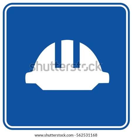 Safety hat design,clean vector #562531168