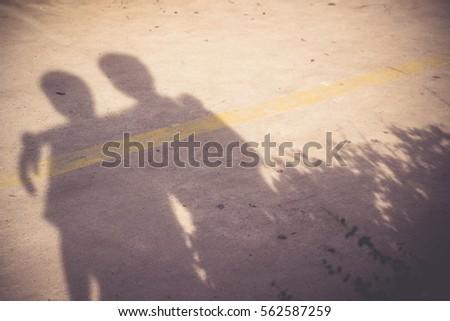 shadow of best friends