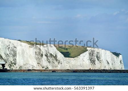 Dover White Cliffs   #563391397