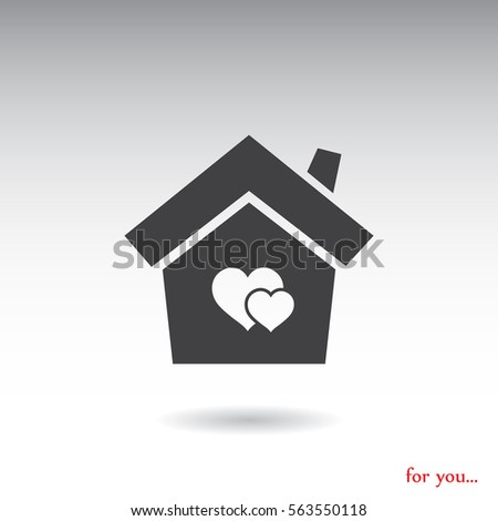 home vector icon #563550118