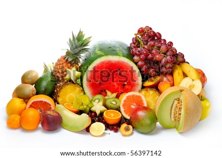 fresh various fruits #56397142