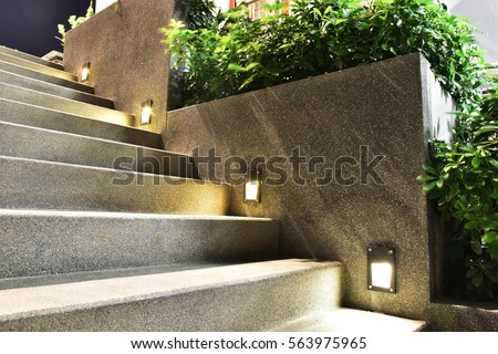 stairway and light #563975965