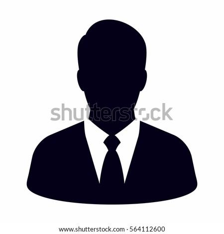 Businessman icon Royalty-Free Stock Photo #564112600