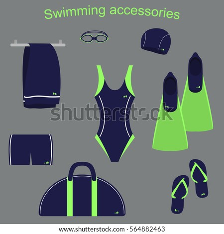 accessories and clothing for swimming pools #564882463