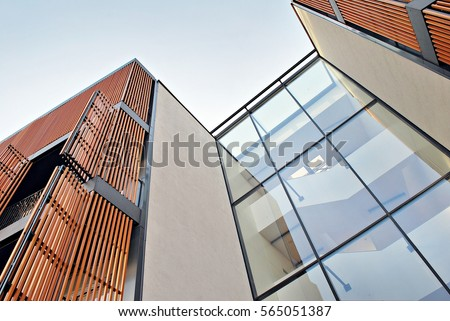 Modern apartment building Royalty-Free Stock Photo #565051387