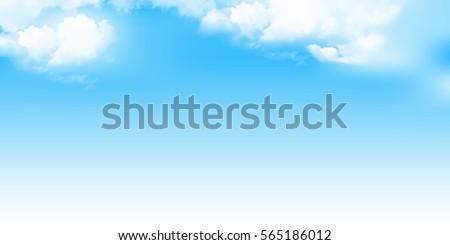 Sky Nature Landscape Background Royalty-Free Stock Photo #565186012
