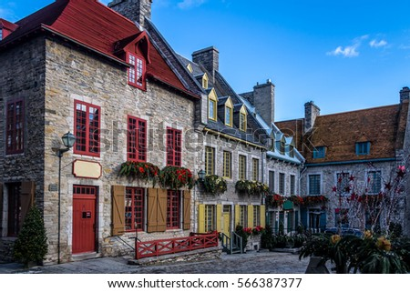 Place Royale (Royal Plaza) buildings - Quebec City, Quebec, Canada #566387377