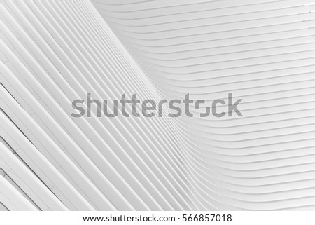 Abstract lines on architecture #1