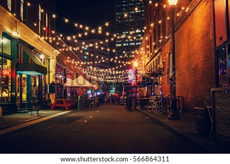 Portland's Alleys Royalty-Free Stock Photo #566864311