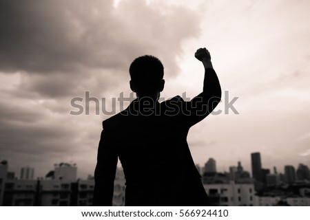Winning successful people concept.  Royalty-Free Stock Photo #566924410