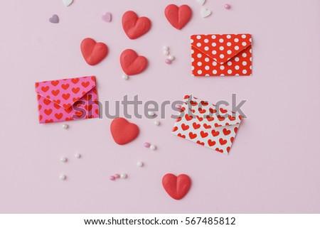 sugar hearts #567485812