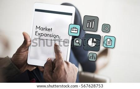 Development Investment Market Expansion Icon #567628753