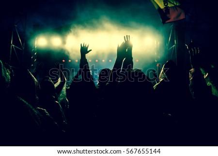 crowd at concert #567655144