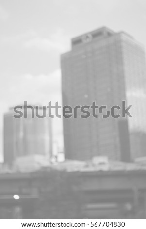 Blurred abstract background and can be illustration to article of buildings #567704830