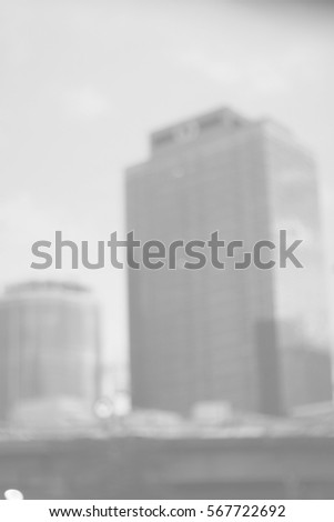 Blurred abstract background and can be illustration to article of buildings #567722692