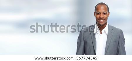 Black businessman #567794545