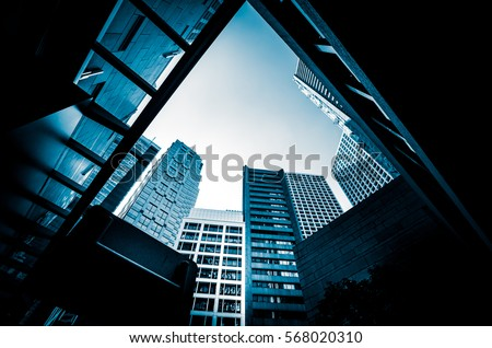 Modern Architecture monochrome tone #568020310