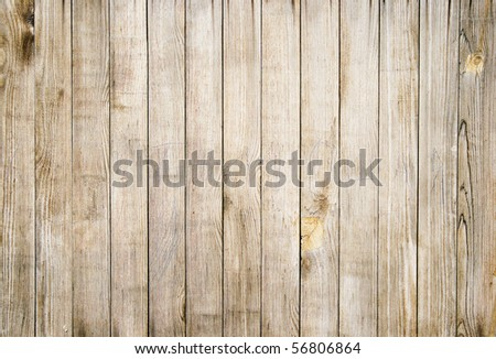 Close up of gray wooden fence panels #56806864