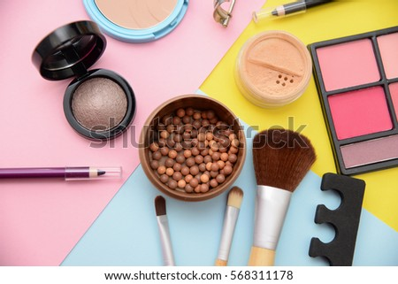 colorful makeup background #568311178