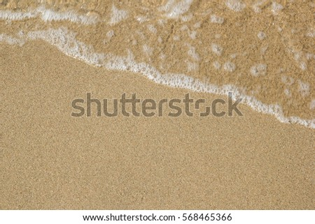 Sandy beach at the sea #568465366