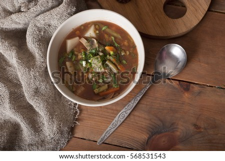 minestrone soup #568531543