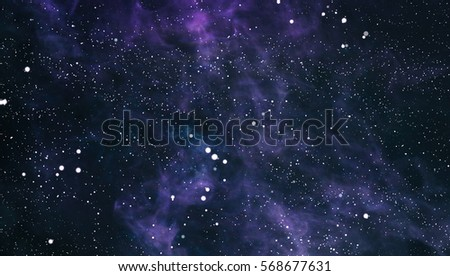 Starry outer space background texture #568677631