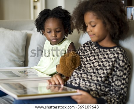 African Descent Family House Home Resting Living #569109643