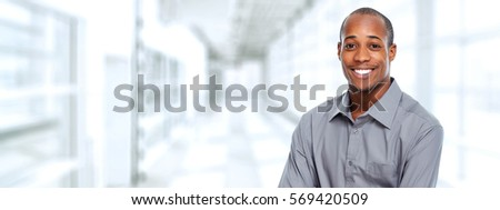 Black businessman #569420509