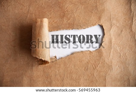 History uncovered  Royalty-Free Stock Photo #569455963