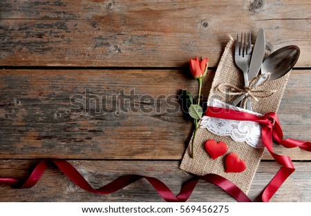Valentines meal background #569456275