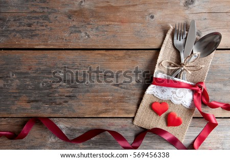 Valentines meal background #569456338