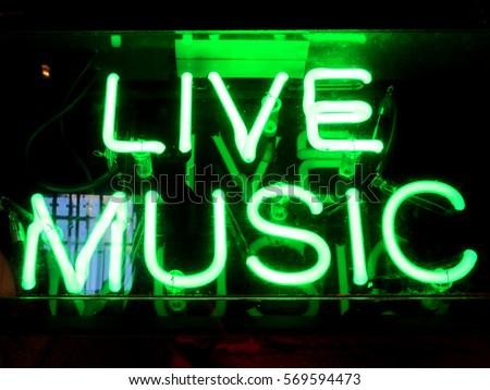 Bright live music