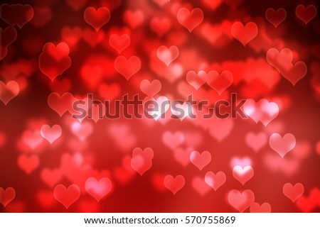 Happy Valentines Day,Bokeh background,heart wallpaper