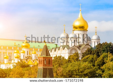 Cathedral of the Archangel Michael  in Moscow Kremlin #571072198