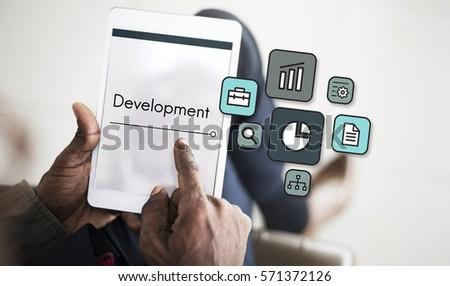 Development Investment Market Expansion Icon #571372126