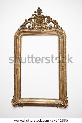 vintage gold frame #57241885