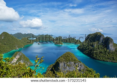 Raja Ampat islands. #573231145