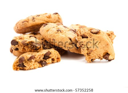 cookies on white background #57352258