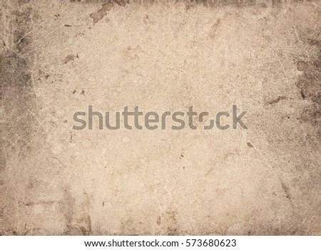 Old vintage paper sheet. Ancient paper texture background #573680623